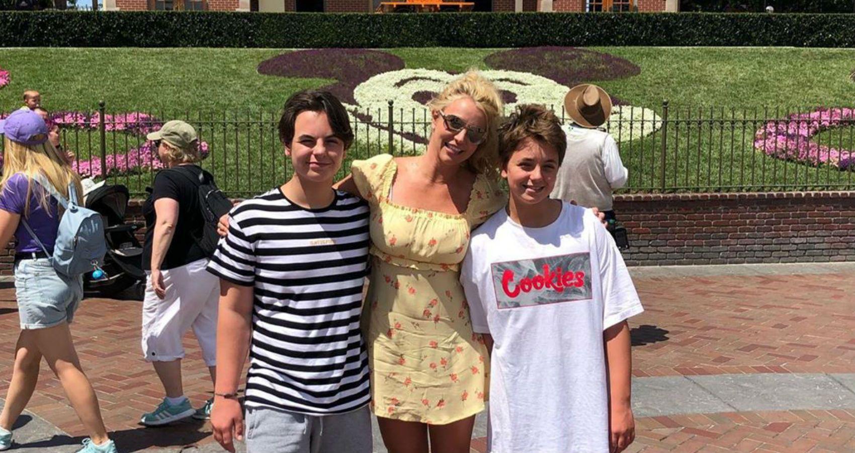 Britney Spears Sons Bio Ages Interesting Details Moms Com