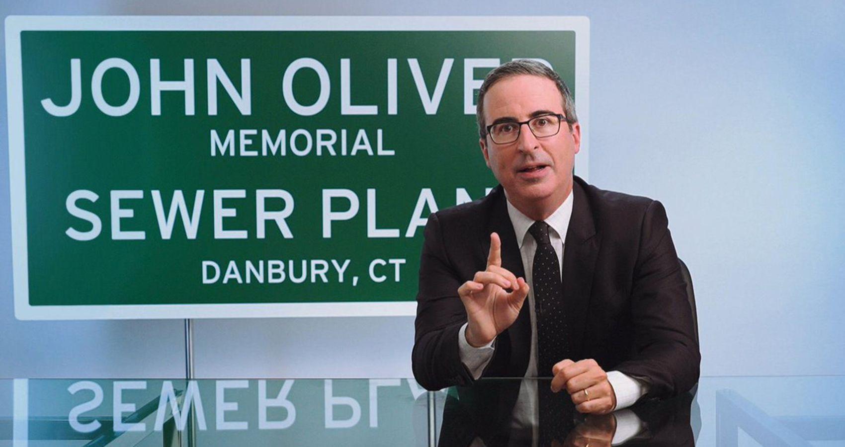 John Oliver Wins Gross (& Hilarious) Connecticut Honor | Moms.com