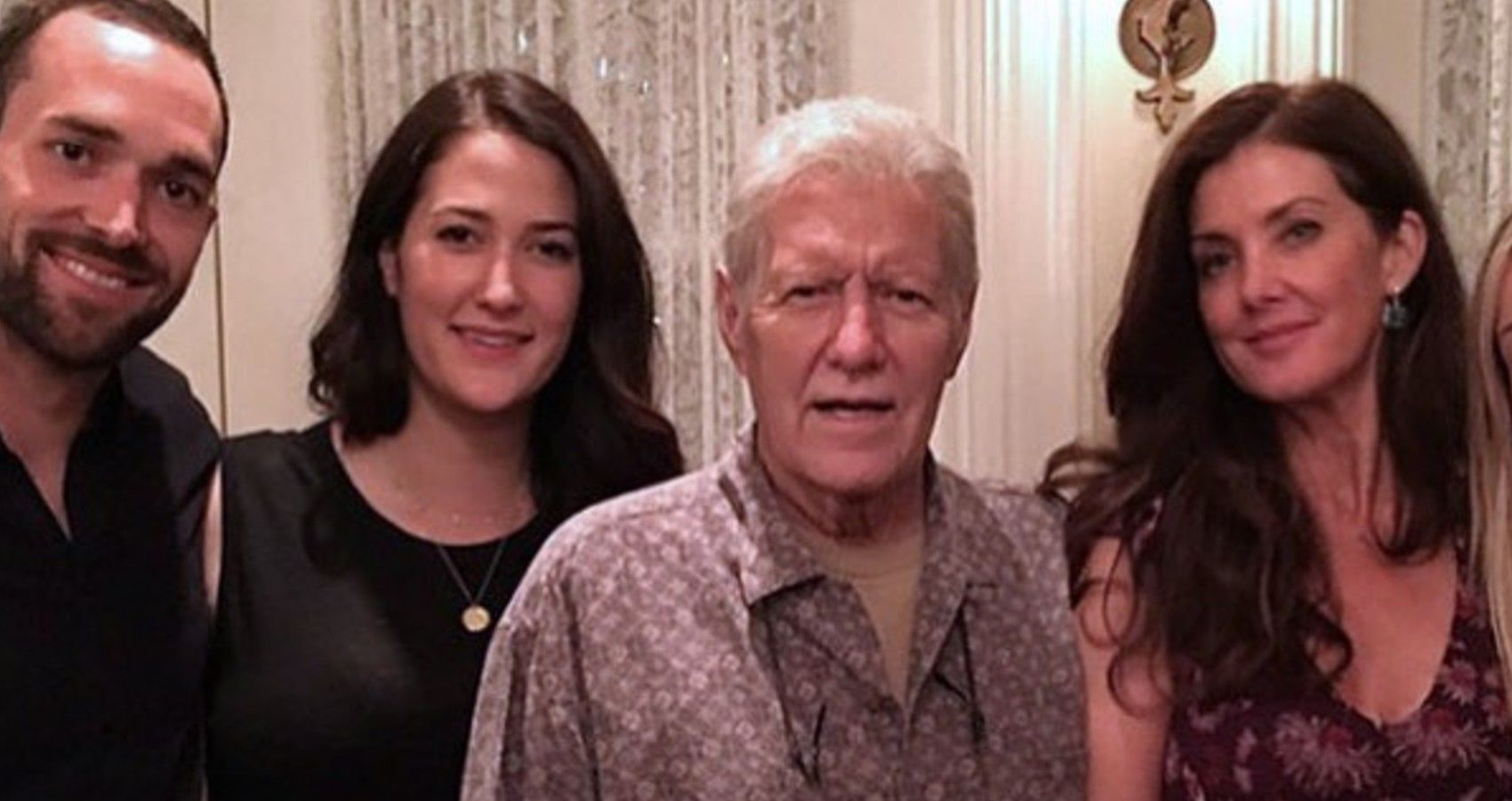 Alex Trebek's Wife Shares Wedding Photo | Moms.com