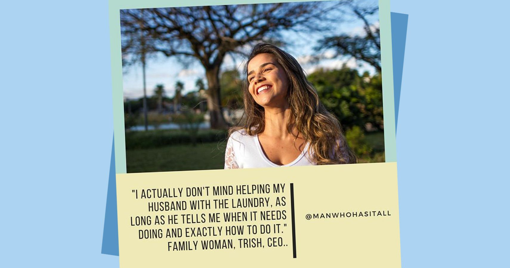 Gender Reversal Meme About Laundry | Moms.com