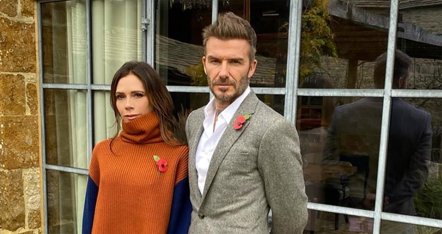 Victoria Beckham Makes Fun Of Hubby For His Fashion Choice In IG Post
