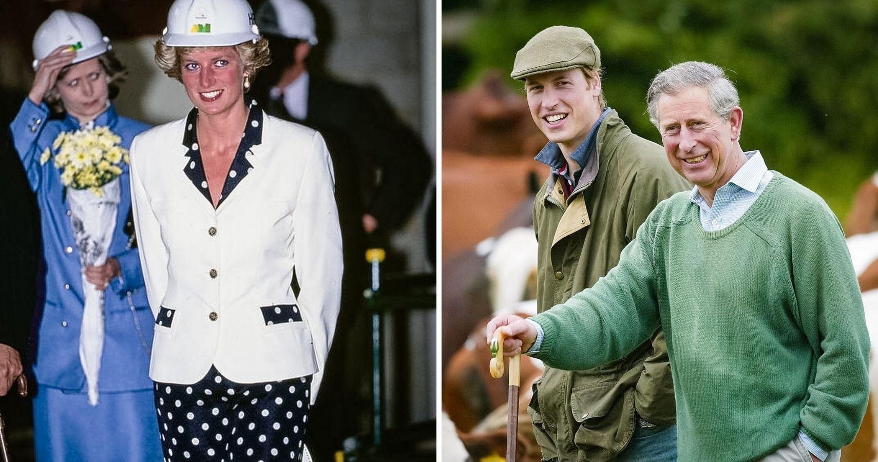 "Prince Charles Felt His Dad ""Pushed"" Him Into Marrying Princess Diana"